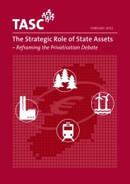 The Strategic Role of State Assets - Tasc