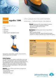 Ergodisc 1200 - Taski