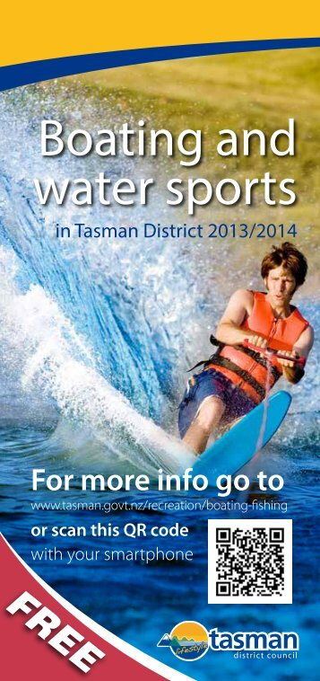 Guide to Boating and Water Sports in Tasman District
