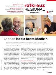 Rotkreuzmagazin 2 / 2012 - DRK Landesverband Hamburg ev
