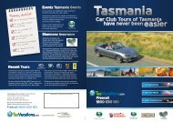 Car Club Tours of Tasmania have never been easier - TasVacations
