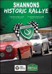 Targa Historic Rallye Leg : 14 April – 22 April 2013 ... - TasVacations