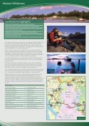 Western Wilderness TasVacations Highlights
