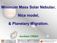 Minimum Mass Solar Nebulae and Planetary Migration