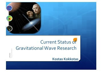 Gravitational Wave: Sources