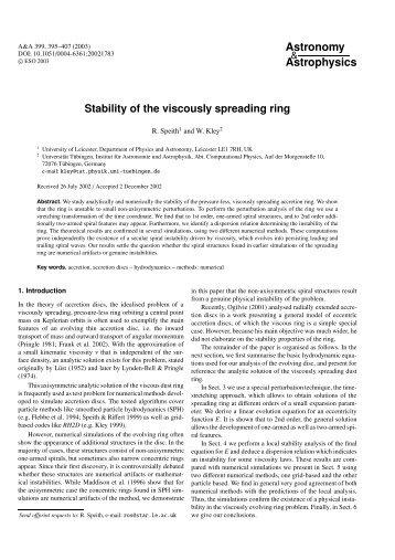 pdf-file - Institut für Astronomie und Astrophysik - Universität Tübingen