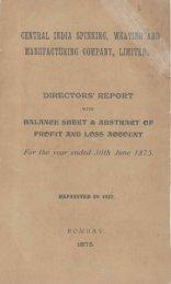 MANUFACTURING COMPANY, LINII'I'I.{'* - Tata Central Archives