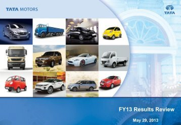 Results Presentation Q4 FY 13 - Tata Motors
