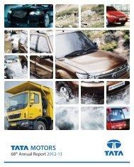 68th Annual Report 2012-13 - Tata Motors