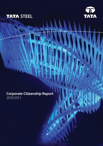 Corporate Citizenship Report 2010/2011 - Tata Steel