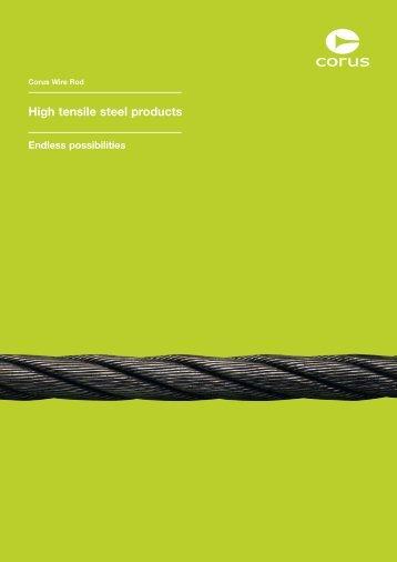 High tensile steel products - Tata Steel