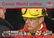 The magazine for the people of Corus Issue 31 Spring ... - Tata Steel