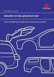 Tenform datasheet - Tata Steel