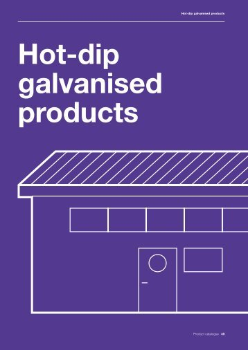Hot-dip galvanised products Corus manufactures ... - Tata Steel