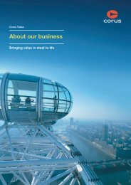 About our business - Tata Steel