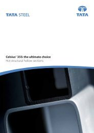 Celsius® 355: the ultimate choice Hot structural hollow ... - Tata Steel