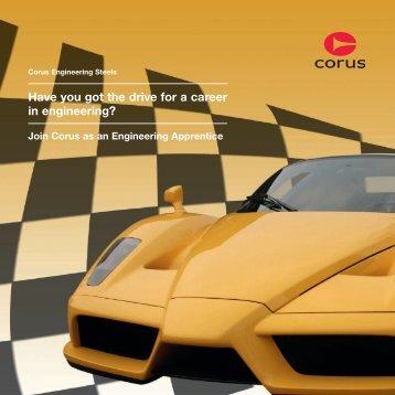 Join Corus As An Engineering Apprentice - Tata Steel