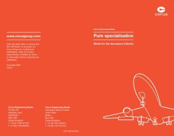 Aerospace booklet - Tata Steel