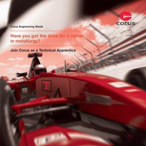 Join Corus as a Technical Apprentice - Tata Steel