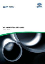 Gamme des produits Strongbox® Profils creux - Tata Steel