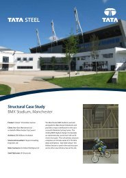 Structural Case Study BMX Stadium, Manchester - Tata Steel