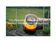 CO Reduction, Sustainability and Railway Infrastructure ... - Tata Steel