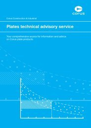 Plates technical advisory service - Tata Steel