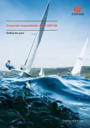 Corporate responsibility report 2007/08 - Tata Steel