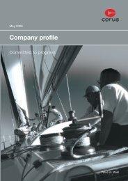 Company profile - Tata Steel