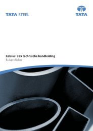 Celsius® 355 technische handleiding Buisprofielen - Tata Steel in ...