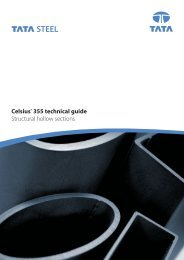 Celsius® 355 technical guide Structural hollow sections