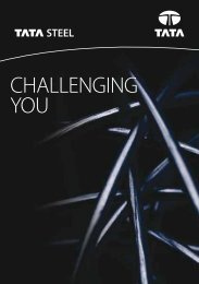 CHALLENGING YOU - Tata Steel