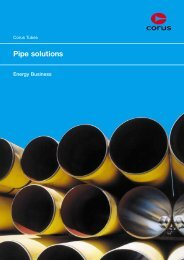 Corus Tubes Energy Business - Tata Steel