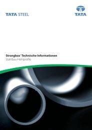 Strongbox® Technische Informationen Stahlbau ... - Tata Steel