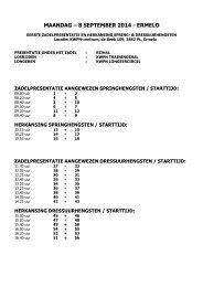 2014-09-08-Startlijst-zadelpresentatie
