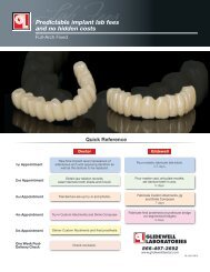 Download PDF - Glidewell Dental Labs