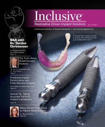 Inclusive - Glidewell Dental Labs