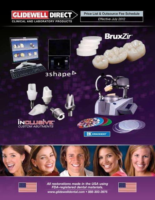 Price List - Glidewell Dental Labs