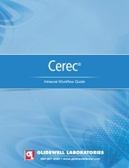 CEREC Intraoral Workflow Guide - Glidewell Dental Labs