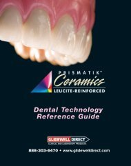 Prismatik UniPack Technique Manual - Glidewell Dental Labs