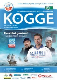 SpVgg - FC Hansa Rostock