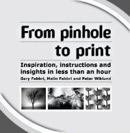 From pinhole to print - AlternativePhotography.com