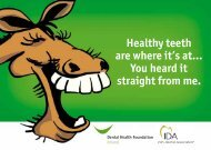 Healthy teeth are where it's at... You heard it straight from me.