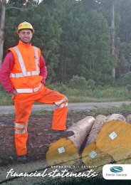 2011 Financial Statements - Forestry Tasmania