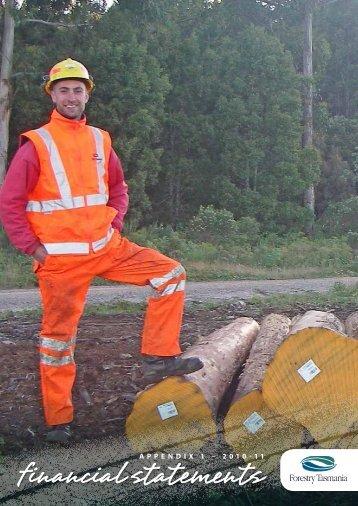2011 Financial Statements - Forestry Tasmania