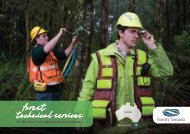 Forest Technical Services - Forestry Tasmania