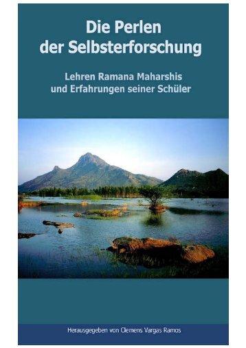 Die Perlen der Selbsterforschung_ Lehren Ramana Maharshis und Erfahrungen seiner Schüler