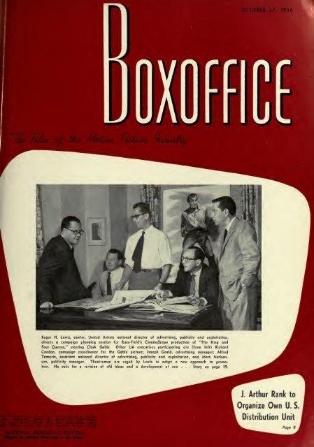 Boxoffice October271956
