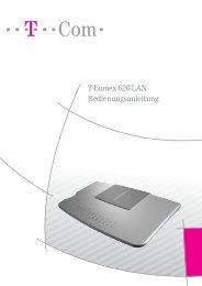 T-Eumex 620 LAN Bedienungsanleitung