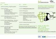 Tagungsflyer mit Programm - TU Dortmund